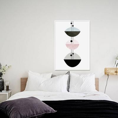 예쁜 거실 그림액자 인테리어 포스터 기하학