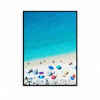여름 인테리어 거실 그림 액자 해변