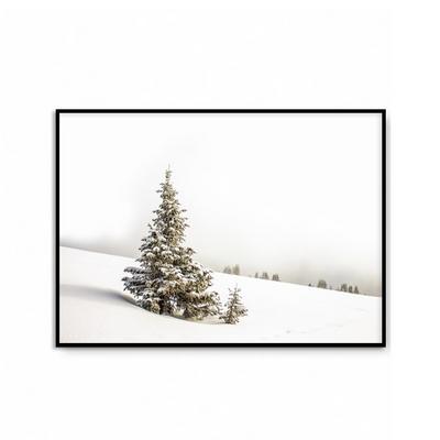 패브릭 포스터 겨울 인테리어 그림 액자 크리스마스