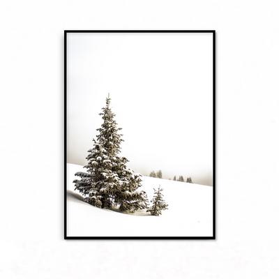 크리스마스 트리 겨울 패브릭 포스터 인테리어 그림 액자
