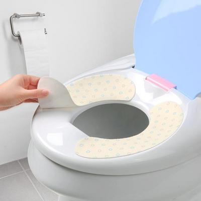 두리변기시트 / 간편하게 붙이는 변기커버 세탁가능