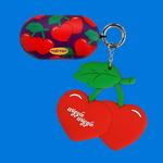 갤럭시 버즈케이스+키링SET - Funky Cherry