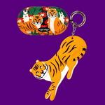 갤럭시 버즈케이스+키링SET - Funky Tiger