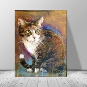 인테리어 동물 고양이 캔버스 액자 zo(32)