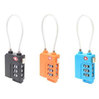 TSA 케이블 안전자물쇠 - 3다이얼