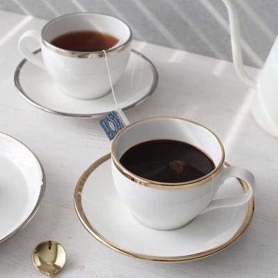 골드라인 커피잔세트 - 백금,골드