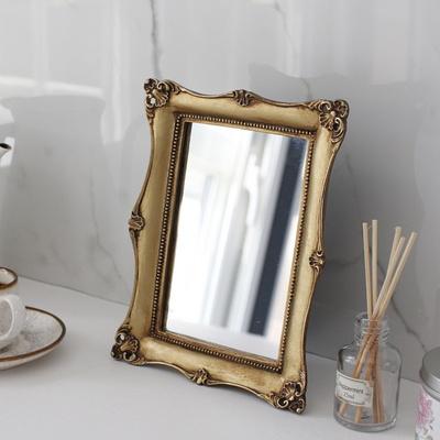 로렌 골드 사각 거울 (KB0581)