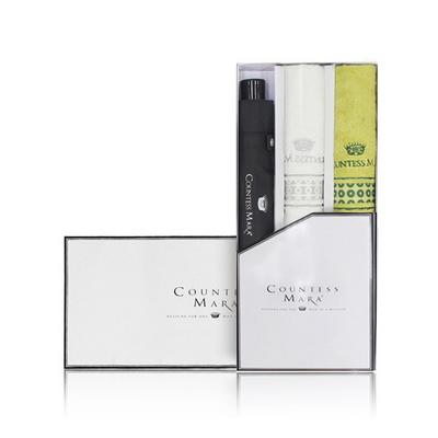 송월 CM 3단 폰지우산 + CM 써클 타올 3P세트