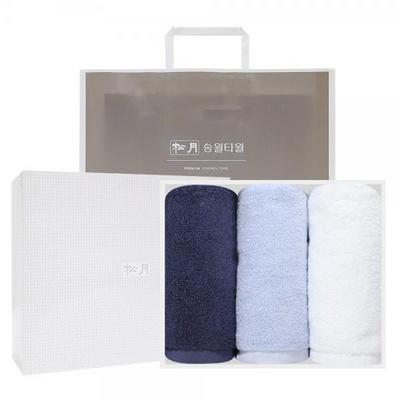 [송월타올] 호텔용 아르망 170g 3매 선물세트