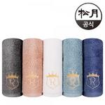 송월 로얄클래스 R90 (40*80cm/190g/ 최고급 40수 면) 10장
