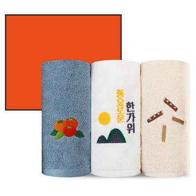 ★송월 추석 한가위 3P 선물세트 130g (3매박스+쇼핑백)