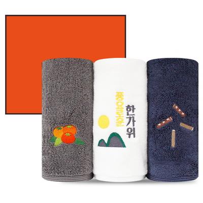 ★송월 추석 한가위 3P 선물세트 190g (3매박스+쇼핑백)