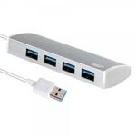 리온 RHS-200S4 / USB 3.0 허브 4포트 실버컬러
