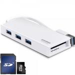 와이어맥스 USB 3.0 허브 3포트 마이허브 US3-WH 카드리더기겸용