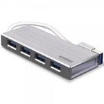 와이어맥스 USB 3.0 허브 4포트 마이허브 US4-SV