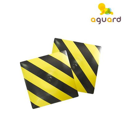 [아가드] 안전무늬벽매트(사각1입)