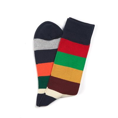 Block Stripe Socks(S-5)