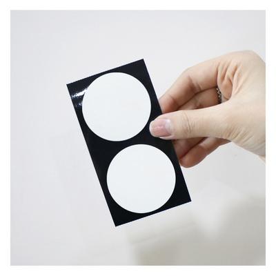 마이스티커 도트 30 화이트 50mm 시트  (10시트)