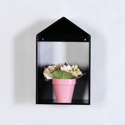 젠-블랙 모던 하우스 벽장식 선반 250