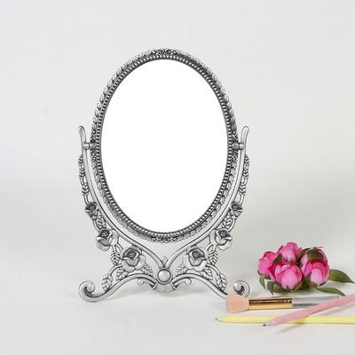 엔틱메탈 이젤 로즈 화장대 거울 라지-3색상