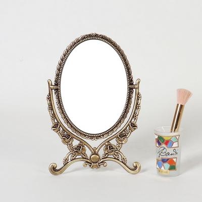 엔틱메탈 이젤 로즈 화장대 거울 스몰-3색상