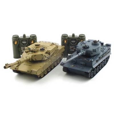 TIGER vs M1A2 배틀탱크 RC 세트
