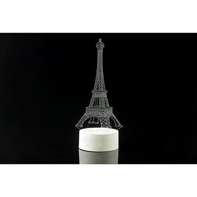 3D LED 무드등 HQ버전 에펠탑