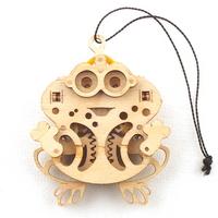 WOODTRICK 개구리 우드토이 3D 목재 퍼즐