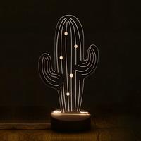 뽀빠이 LED 아크릴 USB 무드등 (밝기조절가능)