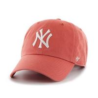 47브랜드 MLB모자 뉴욕 양키즈 아일랜드레드 화이트로고
