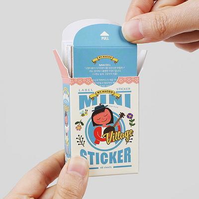 Mini Sticker Pack-08 Village (굴리굴리)