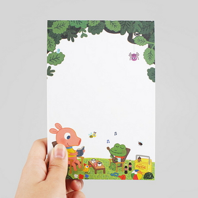 Letter Pad-04 Picnic (GoolyGooly)