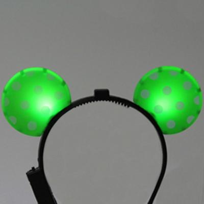 LED점등 미키머리띠 4color