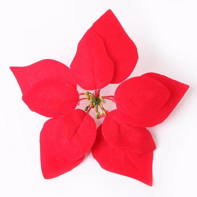 포인꽃 장식 (22cm) 포인세티아