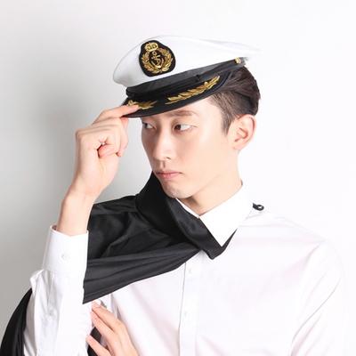 해군모자 - 화이트