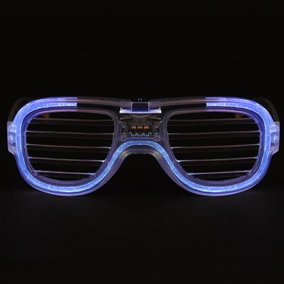LED 와이어점등 셔터쉐이드안경 (4color)
