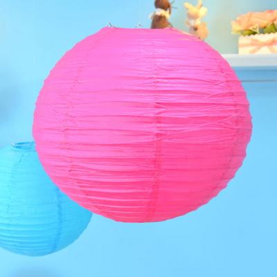 종이등 모빌장식 40CM (7color)