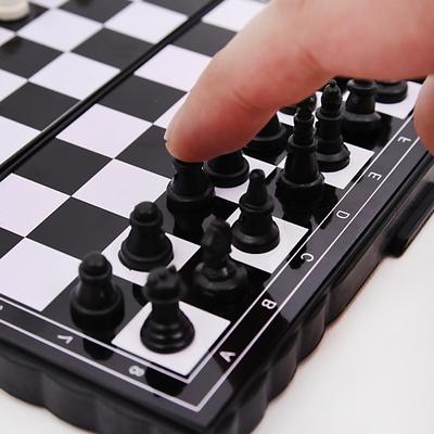 휴대용 미니자석 체스