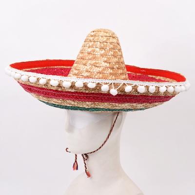 멕시칸모자-솜방울