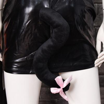 리본고양이꼬리 (블랙)