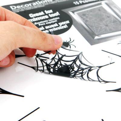 할로윈 거미줄 스티커