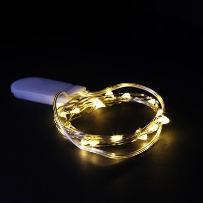 LED 20P 큐티 와이어 전구 (웜노랑)