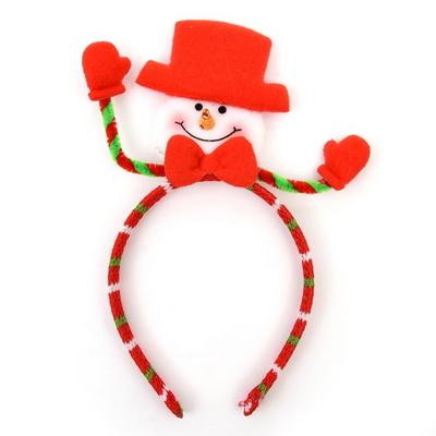 크리스마스 패션 머리띠 (눈사람)