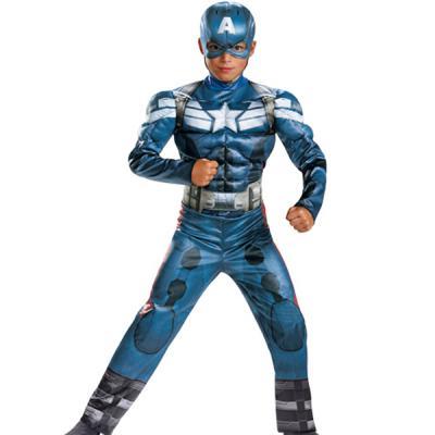 캡틴아메리카 근육 의상