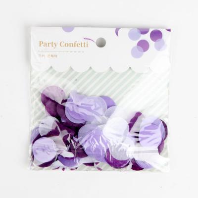 파티 컨페티(꽃가루)-바이올렛