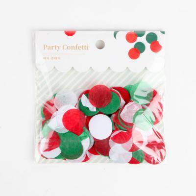 파티 컨페티(꽃가루)-크리스마스
