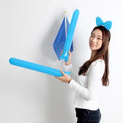 응원용막대풍선-블루(100쌍)