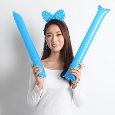 응원용 팡팡막대풍선-레드(100쌍)