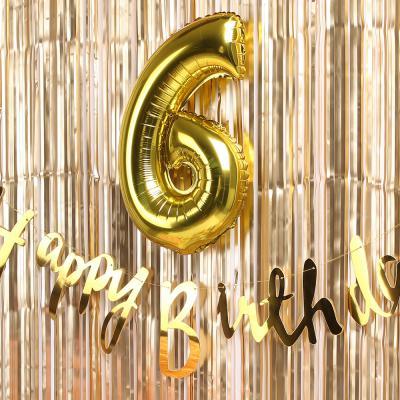 트윙클 생일파티 장식세트 (골드)