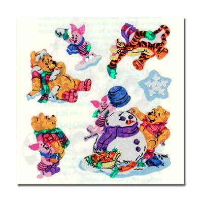 샌디라이온 디즈니- 곰돌이 푸와 친구들의 눈사람만들기